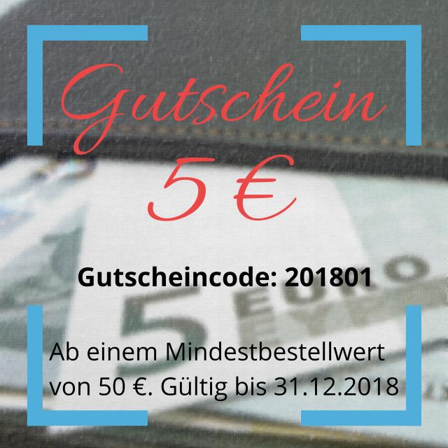Gutscheincode 201801