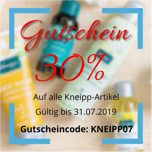 Gutscheincode KNEIPP07
