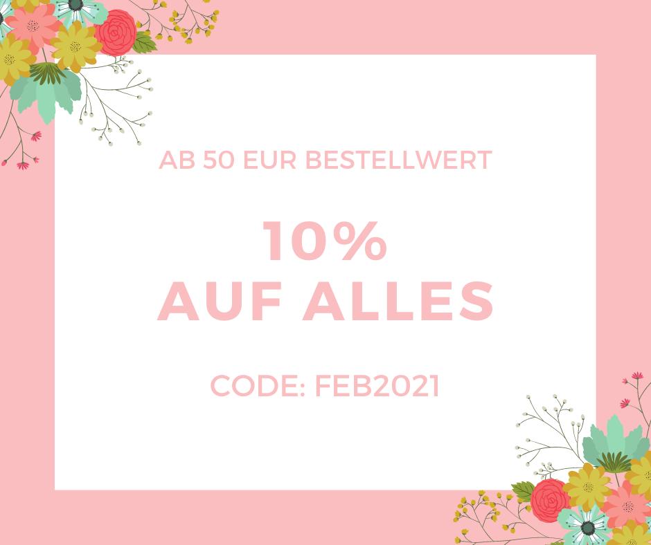 Gutscheincode FEB2021